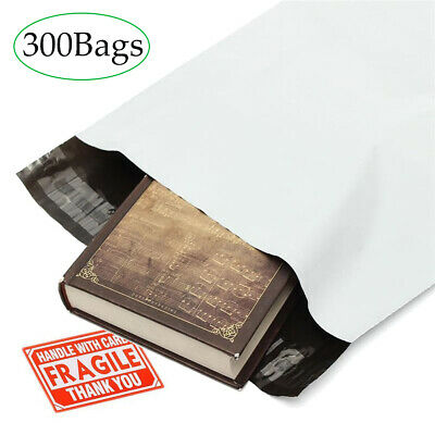 14.5x19 Poly Mailers 300 Shipping Envelopes Plastic Mailing Bags Self Sealing