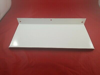Vintage White Porcelain Bathroom Wall Mount Shelf Never Used  Lot(730-56)vc