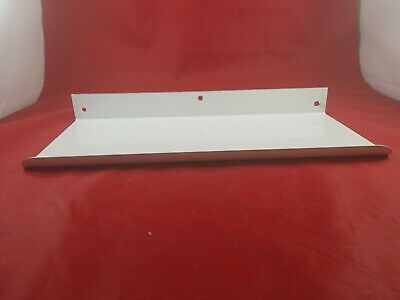 Vintage White Porcelain Bathroom Wall Mount Shelf Never Used  Lot(730-50)vc
