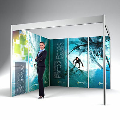 Company Printed Exhibition Bespoke Wall Panel Graphic Display Shell Scheme Board