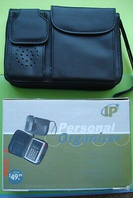 IP Personal Organizer Bag Calculator Weekly Monthly Planner Address & Phone Book