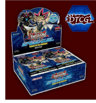 Preorder Sealed Yu-Gi-Oh! Trial of the Kingdom Booster Box Free & Fast Shipping
