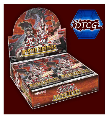 Preorder Sealed Yu-Gi-Oh! Mystic Fighters Booster Box Free & Fast Shipping