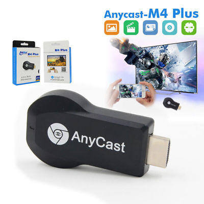 AnyCast M4 Plus WiFi Display Dongle Receiver Airplay Miracast HDMI TV  1080P FBh