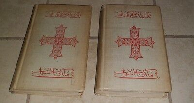 Ancient Coptic Churches Egypt (Two Volumes) Butler 1884 Hardcovers Illustrated