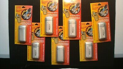 Lot of (7) TRIPLE FLAME WINDPROOF Lighters - New in the Original Package