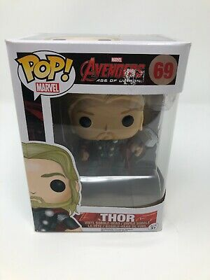 Funko Pop THOR 69 Marvel Avengers 2 Age of Ultron Bobble Head Action Figure