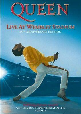 Queen - Live At Wembley Stadium - Dvd (All Regions) - Neuf