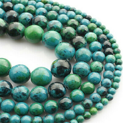 Natural Phoenix Stone Loose Beads Making Jewelry 15 inches Wholesale Hole Opaque