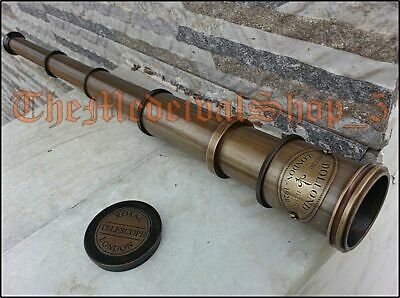 Maritime Telescope Marine Antique Brass Pirate Spyglass Vintage .Scope Handmade