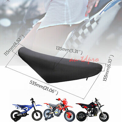 Replacement Tall Seat Cover with Logo for Dirt Bikes Compatible with Honda CRF70 CRF70F CRF 70 New Cover Only