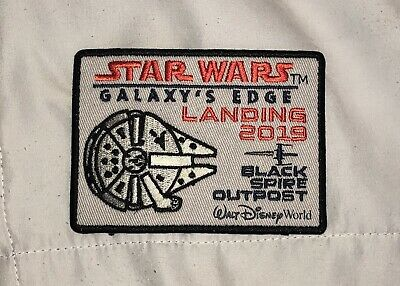 Disney Parks Star Wars Galaxy's Edge Black Spire Outpost Iron On Patch