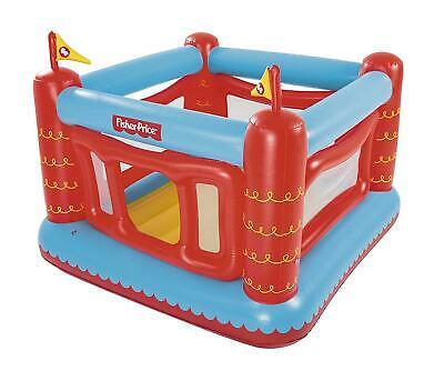Bestway Fisher Price Children Inflatable Bouncetastic Bouncy Castle Play Centre
