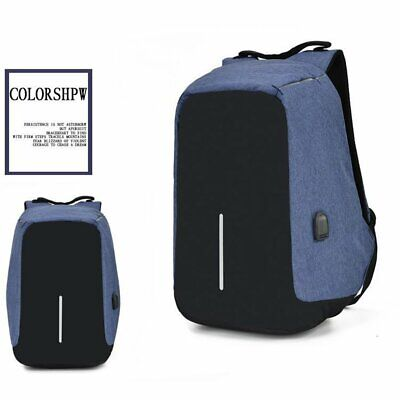 Multifunctional Anti-theft Laptop Backpack With Usb Port Laptop Notebook BagX