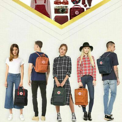 16L Fjal lraven~ fashion popular kanken backpack school sport leisure trend bag