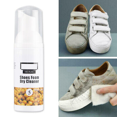 White Shoes Cleaner Whiten Refreshed Polish Cleaning Shoe Sneakers Cleaner 50ml