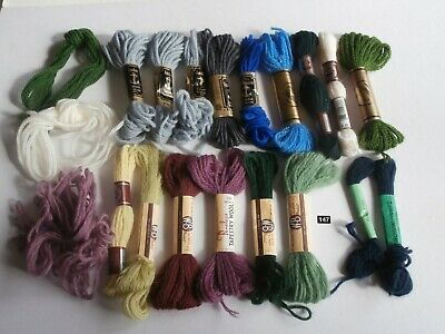 ANCHOR PENELOPE tapestry thread wool assorted colours floss skeins