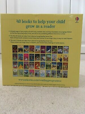 The Usborne Reading Collection - 40 Books Set