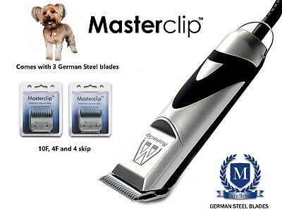 Chorkie (Chihuahua x Yorkie Dog) Clippers Trimmer Set with 3 Blades Masterclip