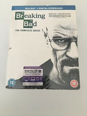 Breaking Bad The Complete Series Bluray Brand New Sealed