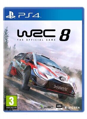 WRC 8 PS4 Spiel NEU OVP World Rally Championship 8 Playstation 4