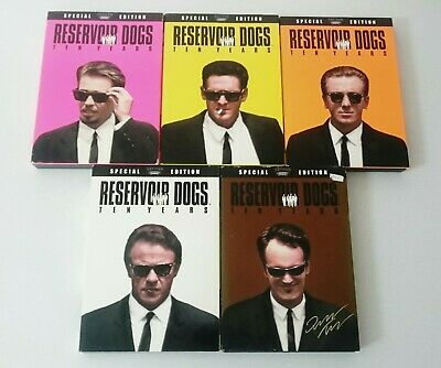 Reservoir Dogs Dvd Collection R1 Mr Brown Quentin Tarantino *Not Blu Ray*