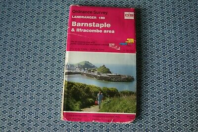 Ordnance Survey Landranger 180 - Barnstaple & Ilfracombe Area map