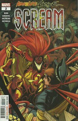 Absolute Carnage Scream #2 Regular Cover By Marvel! Fast Shipping!