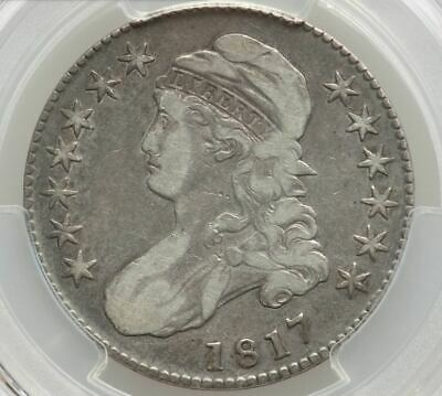 1817 Capped Bust Half Dollar   PCGS VF25