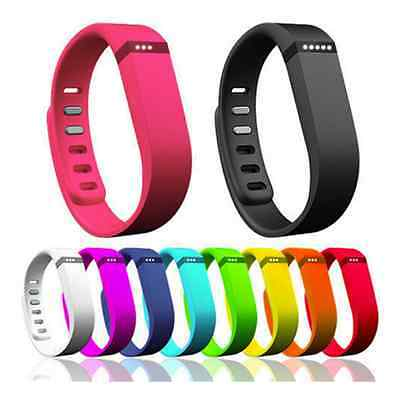 Replacement Silicone Sports Band Strap for Fitbit Flex Activity Tracker Large