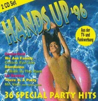 Hands Up '96-36 special Party Hits DJ Bobo, Pointer Sisters, Weather Gi.. [2 CD]