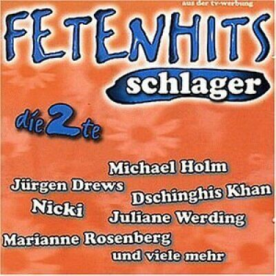 Fetenhits-Schlager 2 (1997) Wolfgang Petry, Dschinghis Khan, Shorts, Be.. [2 CD]