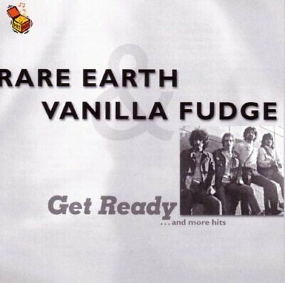 Rare Earth Get ready..and more hits (16 tracks, 1999, split compilation f.. [CD]