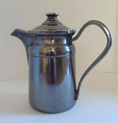 Antique Reed & Barton Silver Soldered Pitcher 16 Oz