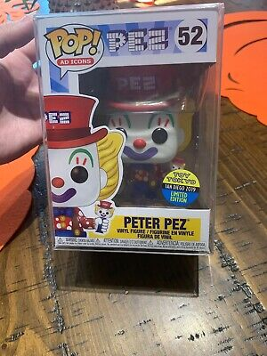 Funko Pop! Peter PEZ Toy Tokyo 2019 SDCC Shared Exclusive W/Pop Protector