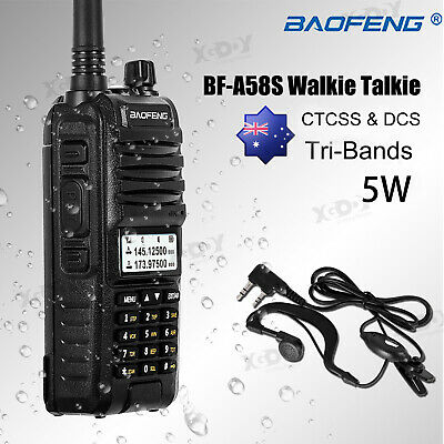 Baofeng A58S Waterproof Two Way Radio 10W UHF VHF Walkie Talkie 128CH  VOX DCS