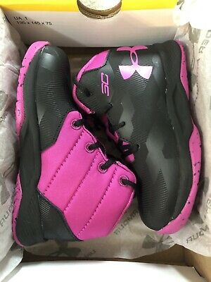 the best attitude 60473 3cc29 NEW TODDLER GIRLS Infant UNDER ARMOUR Steph Curry 2.5 Shoes Size 6 6K Kids