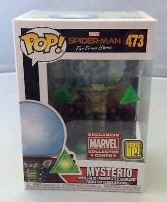 Funko Pop! Mysterious Spider-Man Far From Home Marvel Collector Corps #473