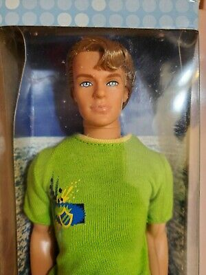 "Barbie Beach Glam Ken Doll 2006 NEW in Unopened Box ""KEN"""