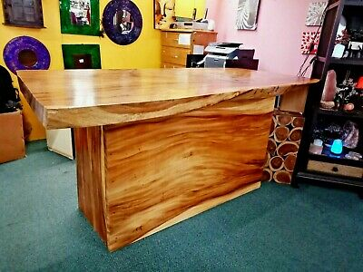 SINGLE SLAB ACACIA Hardwood Retail Shop Front Counter Desk PICK UP ONLY VIC