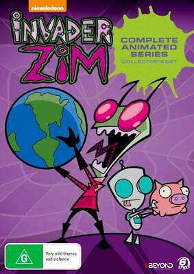 Invader Zim Season 1 + 2 DVD (Region 1 US Compatible) The Complete Series