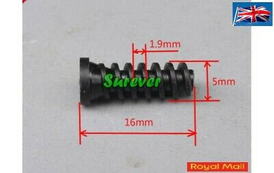 Plastic Worm Gear 2mm Aperture For Toy Motor For 2mm Shaft  #M68