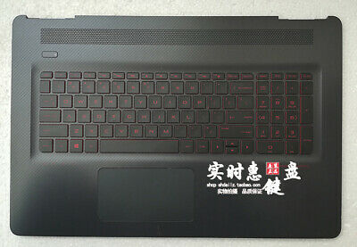 HP Omen 17-W Palmrest Keyboard Trackpad Touchpad Top Cover US Layout 862972-001