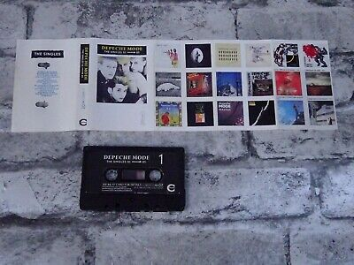 DEPECHE MODE - The Singles 81-85 (UK) Best Of / Cassette Album Tape/ 2352