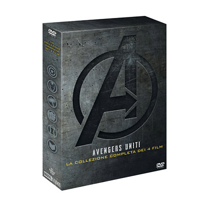 Avengers Collection (4 Dvd)  [Dvd Nuovo]