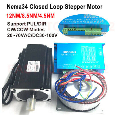 12NM / 8.5NM /4.5NM Closed Loop Schrittmotor Hybrid Servosteuerung Stepper Motor