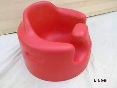 Bumbo Baby Feeding Booster Seat, Red,Clean,Good Condition,Light Marks