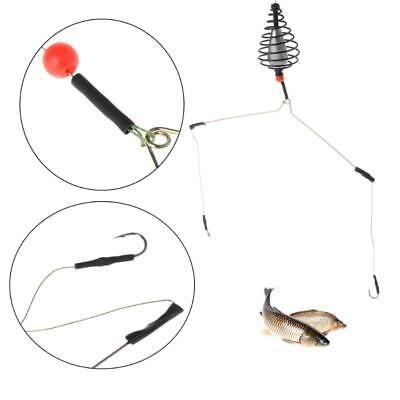 Carp fishing feeder tool bait cage lure pit device lead pellet fishing tackEC