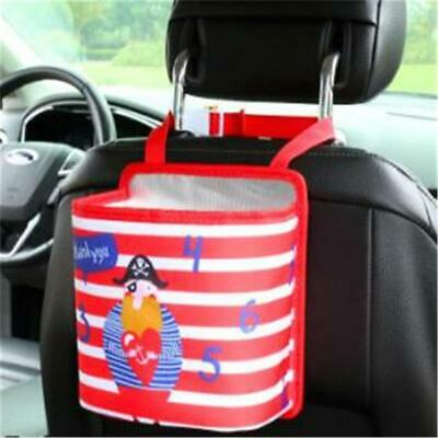 Portable Collapsible Car Trash Can Leak Proof Trash Bin Box Hanging Bag C