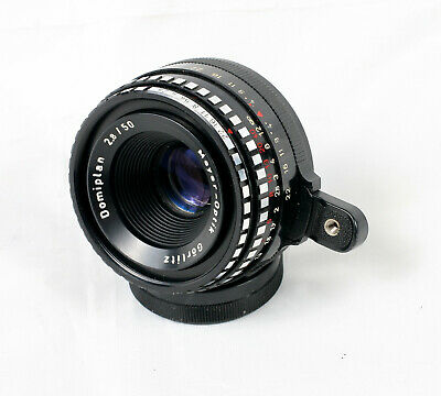 Meyer Optik Gorlitz Domiplan 50mm f/2.8 Zebra Exa Exakta Mount Lens 01379